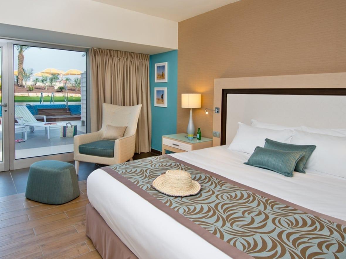 Herods Dead Sea hotel room