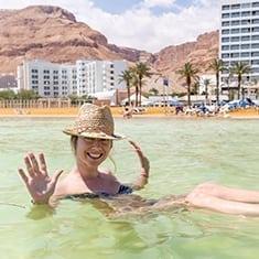 Dead Sea girl