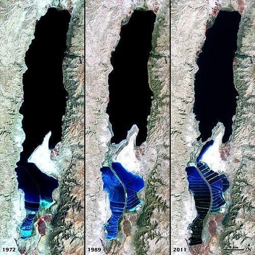 Dead Sea is drying