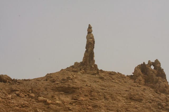 Lot's Wife Pillar of Salt